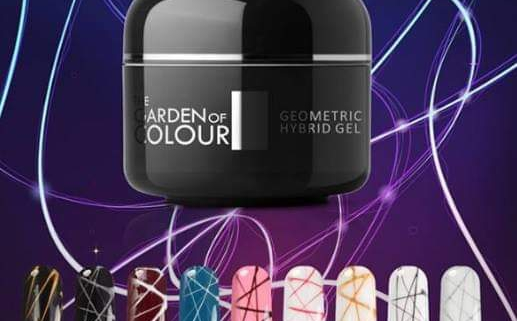 SPIDER GEL SILCARE - Hybrid Gel The Garden of Colour Geometric - Silver